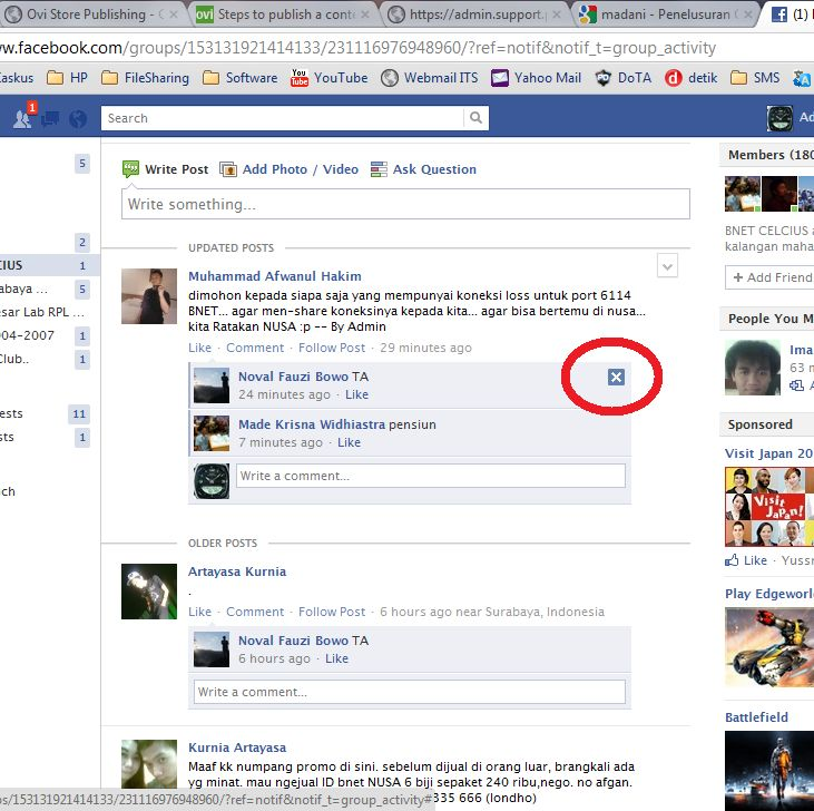 hide comment in facebook