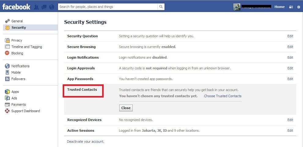 Tips Regarding Facebook Security | Coz 1 won't be enough